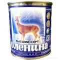 Консервы мясные Оленина тушеная ГОСТ высший сорт 290 гр. ж/б