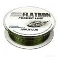 Леска Nautilus Flatron Feeder 150m d-0.14мм 1.7кг Camo Green