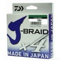 Шнур Daiwa J-Braid X4 Dark Green 0.07мм  135м