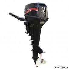 Лодочный мотор 2-х тактный HDX R Series ТЕ18 BMS
