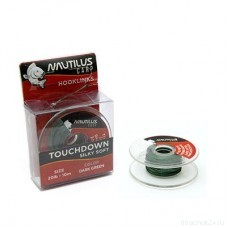 Поводковый материал Nautilus Silky Soft Touchdown 20lb 10м Dark Green