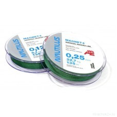Шнур Nautilus Magnet 4 Green d-0.17 7.3кг 135м