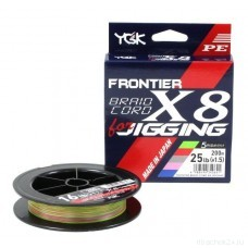 Шнур YGK BRAIDCORD X8 jigging 200m #1.2
